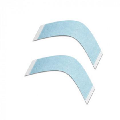 Adhesivos Prótesis Tiras Curvas Azul (36U.)