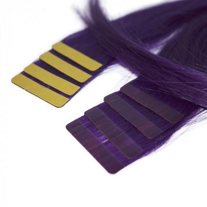 Extensiones Adhesivas de cabello natural 10 tiras