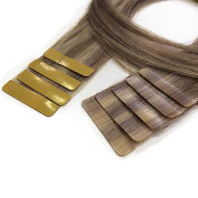 Extensiones Adhesivas de cabello natural 20 tiras